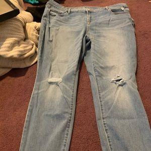 Old navy skinny jeans 20